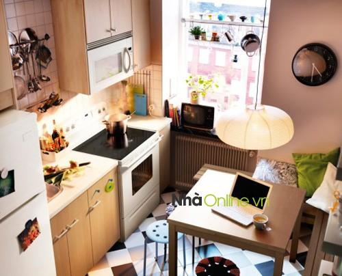 Nhà bếp không thông thoáng, động nước gây ra nhiều bệnh tật cho gia chủ