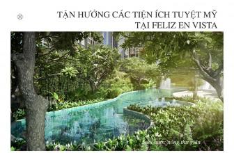 Có một công viên nước trong lòng dự án