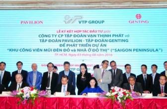 Gần 6 tỷ USD xây dựng công viên và khu đô thị Saigon Peninsula